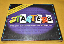 STARTERS THE BOARD GAME 1999 NORTHERN GAMES NEW FACTORY SEALED