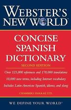 Webster's New World Concise Spanish Dictionary by Chambers Harrap Publishers...