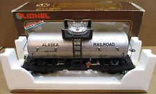 Lionel Alaska Railroad Train Single Dome Tank Car Large Scale Indoor/Outdoor USA