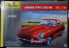 1961 Jaguar E Type 3L8 FHC, 1:24, Heller 80709 wieder 2016