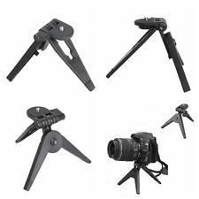 Pieghevole 2in1 Portable Handheld Mini treppiede per fotocamere digitali