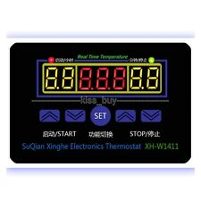 DC 12V Electronic Thermostat 10A LED Multifunction Temperatur Controller+Probe
