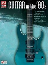 Play It Like It Is Guitar In The 1980 80s EIGHTIES HITS Learn GUITAR Music Book