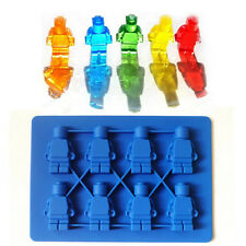 Mini Lego Figures Silicone Chocolate, Candy and Gummy Mold