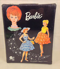 1964 Barbie Doll Carrying Case with Doll and Doll Clothes