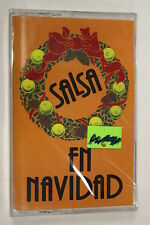 Salsa En Navidad by Various Artists (1996)(Audio Cassette Sealed)