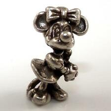 Vintage Sterling Silver 3D Minnie Mouse Disney Charm