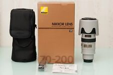 Nikon AF-S 70-200mm f/2.8G ED-IF VR Lens (Grey) - New in Box, Collectable item!