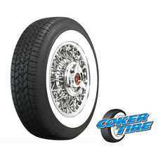 "COKER Classic Wide Whitewall Radial 215/75R15 (2 1/2"") (Quantity of 4)"
