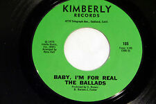 Ballads: Baby, I'm For Real / Dizzy World  [NEW & Unplayed]