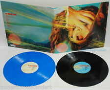 LIMITED 100! THE FLAMING LIPS EMBRYONIC 2 LP BLACK & BLUE VINYL MISPRESS NM RARE