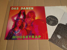 DAS DAMEN - MOUSETRAP - LP - WHAT GOES ON RECORDS GOES ON 34