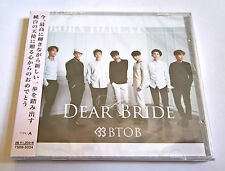 BTOB Dear Bride Japan Press CD Type A with Random Photocard Sealed K-Pop