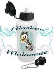 Alaskan Malamute Dog Water Bottle Children Adults Pets Sports by paws2print