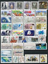 Bundespost jaargang 1986 gebruikt (2) zonder het blok