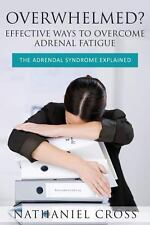 Overwhelmed? Effective Ways to Overcome Adrenal Fatigue : The Adrendal...