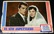 fotobusta originale TE STO' ASPETTANNO Maria Paris Rosario Borelli 1958