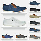 Mens New Casual Flat Lace Up Smart Office Formal Shoes Trainers UK Sizes 6-12