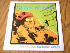 "CAPTAIN SENSIBLE - THERE ARE MORE SNAKES THAN LADDERS  7"" VINYL PS"