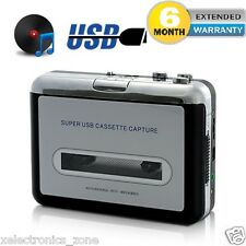 New Ezcap USB Walkman Audio Cassette Player Tape To Mp3 Converter PC OR LaptoPPp