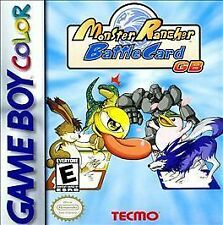 GAMEBOY COLOR MONSTER RANCHER BATTLE CARDS BRAND NEW FACTORY SEALED FREE SHIP US