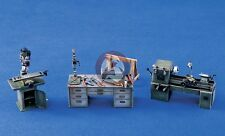 Verlinden 1/35 Panzerwerk Workshop Machines & Tools (Lathe, Drill Press) 1013