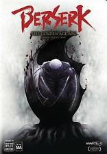 Berserk: The Golden Age Arc - The Movie Collection (DVD, 2016, 3-Disc Set)