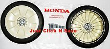 44710-VE2-M01ZA OEM Honda Harmony Walk Behind Lawn Mower SET of 2 FRONT WHEELS