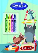 Rat Pack (Color Plus Chunky Crayons) (Ratatouille Movie Tie In) - Acceptable - G
