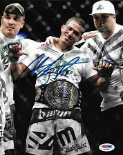 Anthony Pettis Signed UFC 8x10 Photo PSA/DNA COA WEC 53 Belt Picture Autograph 3