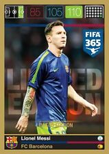 Adrenalyn XL FIFA 365 Lionel Messi Limited Edition Panini Top Teams 2015