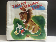Childrens Baby Tawny Scrawny Lion Little Golden Cloth Books Quiet Time Play