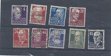 Germany stamps. Allied Occupation Russian Zones portraits used (W951)