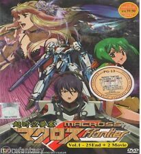 DVD MACROSS FRONTIER ( VOL 1-25 END + 2 MOVIE ) ENGLISH SUB