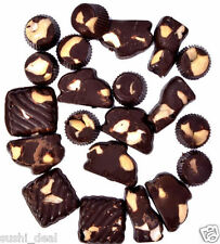 100 gms Of Home Made Cashew Chocolate, Different Shapes