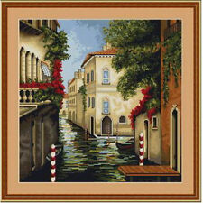 Cross Stitch Kit Venice in Bloom Luca-s Anchor threads