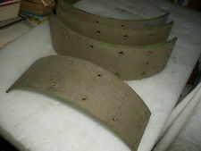 ROVER P4 60/75/90/105, 1954/ 1959, SET FOUR NOS FRONT BRAKE LININGS