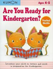Kumon - Are You Ready For Kindergarten (2012) - New - Trade Paper (Paperbac