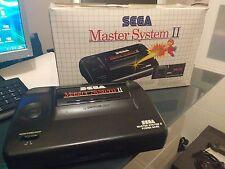 Master system 2 de sega,con caja y 3 juegos