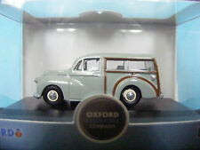 Morris Minor Traveller in Smoke Grey 1:76 Oxford Diecast New