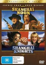 ●● SHANGHAI NOON / KNIGHTS ●● (DVD, 2002, 2-Disc Set) Jackie Chan, Lucy Liu NEW