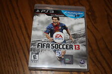 Fifa Soccer 13 (Sony Playstation 3, 2012) Good Shape Complete