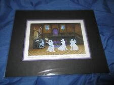 HAUNTED MANSION Signed Art Print Larry Dotson ~Disney Exclusive BALLROOM GHOSTS