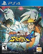 Naruto Shippuden: Ultimate Ninja Storm 4  --  PlayStation 4 PS4 Complete w Case