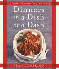 Dinners in a Dish or a Dash by Jean Anderson- 1st edition !