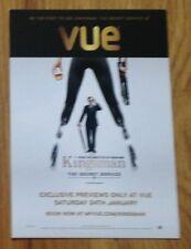Kingsman The Secret Service Doublesided Promotional Postcard (Colin Firth)