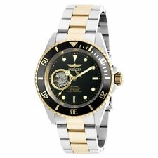 Invicta 20438 Gent's Automatic Black Dial Two Tone Steel Watch