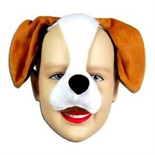 Dog Puppy Face Mask Animal Fancy Dress Costume With Sound Effect FX P1302