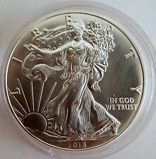 1oz 2015 Silver American Eagle With Capsule