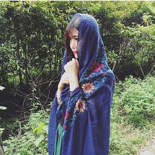 Autumn Winter Women Long Style Cotton Linen Scarf Sunscreen Shawl